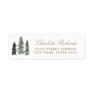 Pine Forest Label