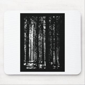 pine forest mouse pad