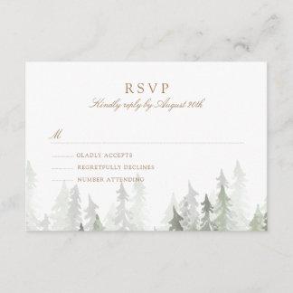 Pine Forest RSVP
