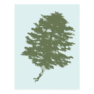 Pine Gliding Postcard