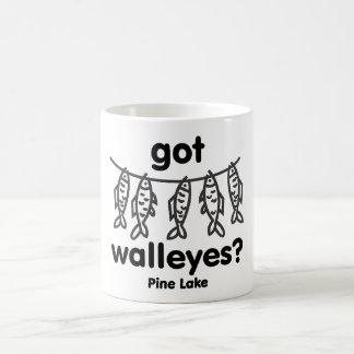 pine got walleye coffee mug