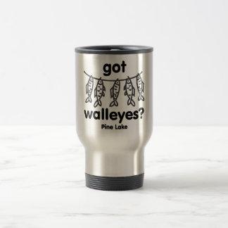 pine got walleye travel mug