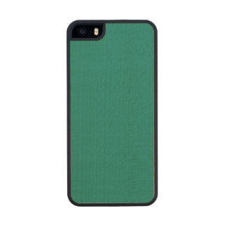 Pine Green Classic Colored Carved® Maple iPhone 5 Slim Case