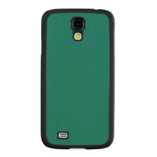 Pine Green Classic Colored Carved® Maple Galaxy S4 Slim Case