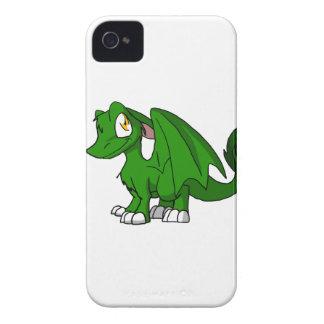Pine Green SD Furry Dragon iPhone 4 Covers