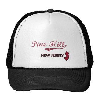 Pine Hill New Jersey City Classic Trucker Hats