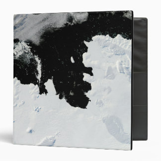 Pine Island Bay in West Antarctica 3 Ring Binder