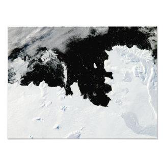 Pine Island Bay in West Antarctica Art Photo