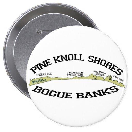 Pine Knoll Shores. Button