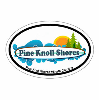 Pine Knoll Shores. Cutout