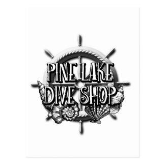 Pine Lake Dive Shop Gear Postcard