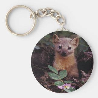 Pine Marten Keychain