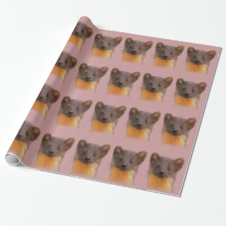 Pine Marten Wrapping Paper
