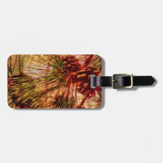 Pine Needle Abstract Gifts Bag Tag