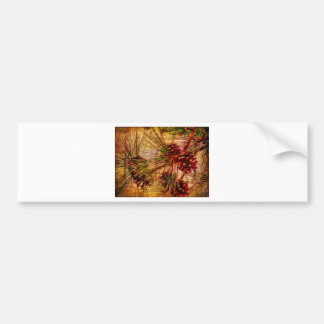 Pine Needle Abstract Gifts Bumper Sticker