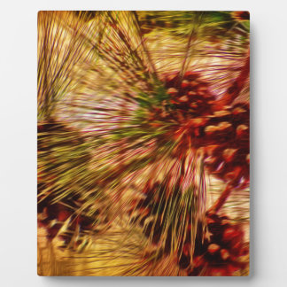 Pine Needle Abstract Gifts Plaque