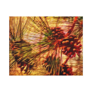 Pine Needle Abstract print