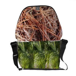 Pine needle messanger bag commuter bags