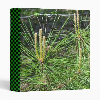Pine Needles 3 Ring Binder