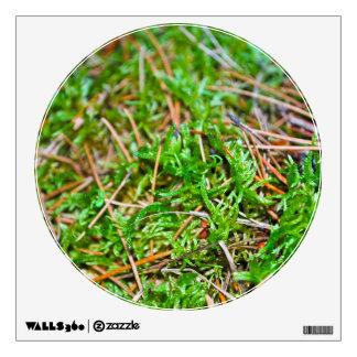 Pine Needles and Moss Room Sticker