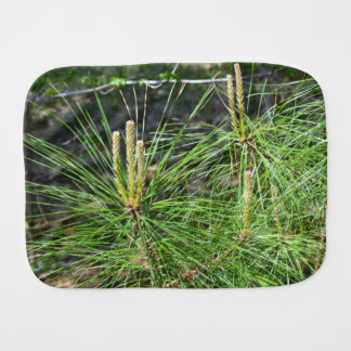 Pine Needles Burp Cloth