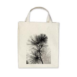 Pine Needles Canvas Bags