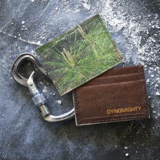 Pine Needles Card Wallet