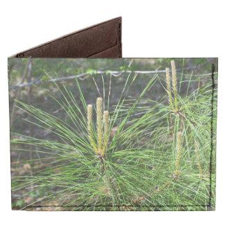 Pine Needles Tyvek® Billfold Wallet