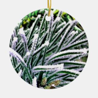 pine needles christmas tree ornaments