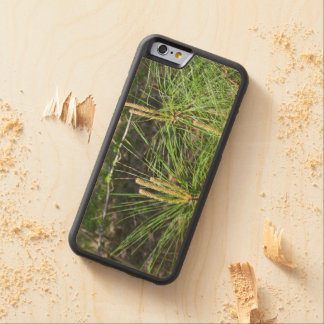 Pine Needles Carved® Maple iPhone 6 Bumper