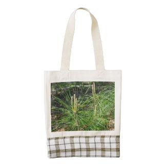 Pine Needles Zazzle HEART Tote Bag
