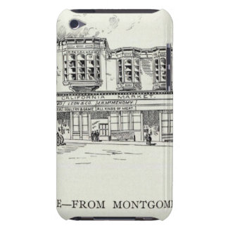 Pine North side Montgomery and Kearny iPod Touch Cases