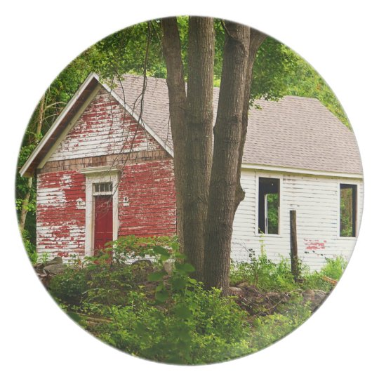 Pine Orchard Schoolhouse Plate