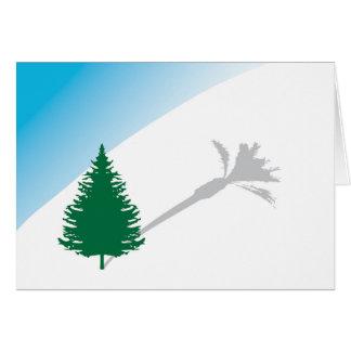 Pine Palm Holiday Card