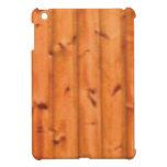 pine panel art iPad mini cover