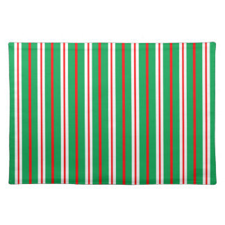 """""""Pine & Peppermint"""" Holiday Placemat"""