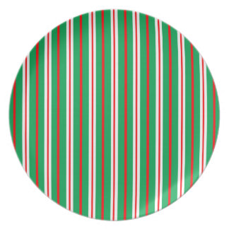 """""""Pine & Peppermint"""" Holiday Plate"""