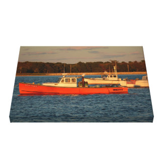 "Pine Point Maine 24"" x 18"", 1.5"", Single Canvas Print"