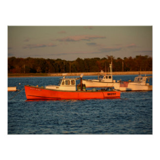 """Pine Point Maine 24"""" x 18"""",  Poster"""