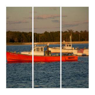 Pine Point Maine AcryliPrint®HD Triptych Wall Art