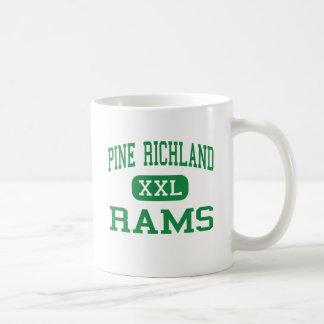 Pine Richland - Rams - High - Gibsonia Classic White Coffee Mug