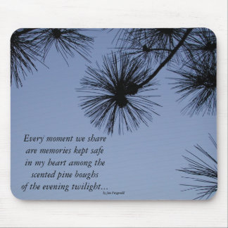 Pine Shadows Mouse Pad