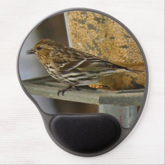 Pine Siskin Gel Mouse Pad