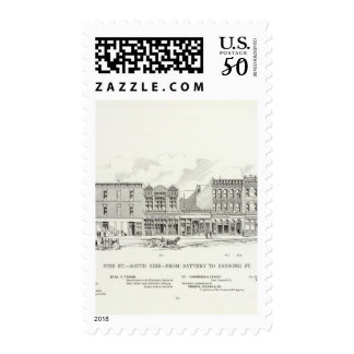 Pine South side Battery and Sansome Postage