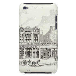 Pine South side Bery and Sansome iPod Touch Case