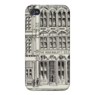 Pine South side Front and Battery iPhone 4/4S Cases