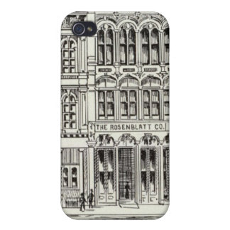 Pine South side Front and Bery iPhone 4/4S Cases