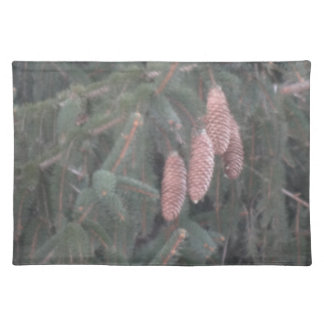Pine Tree and Pine Cones Placemat