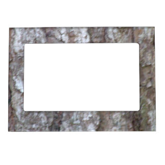 Pine Tree Bark Camo Natural Wood Camouflage Magnetic Frames