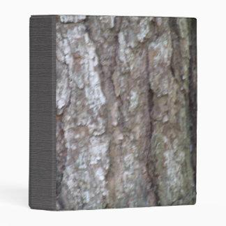 Pine Tree Bark Camo Natural Wood Camouflage Mini Binder